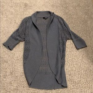 A.n.a. Gray cardigan sweater in size PM